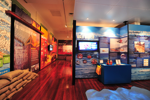 Inside the DFES heritage centre