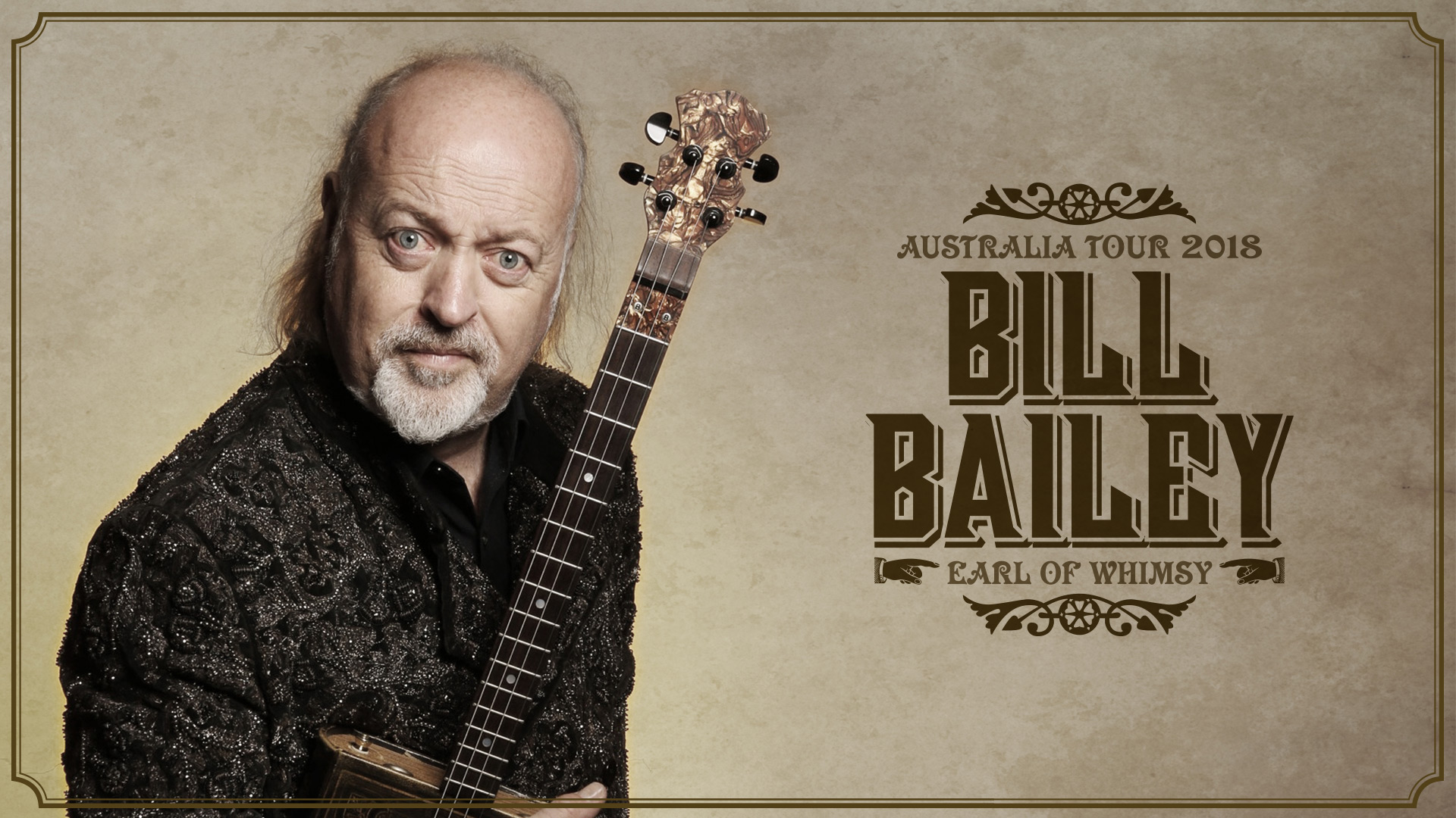 Promotional image of Bill Bailey