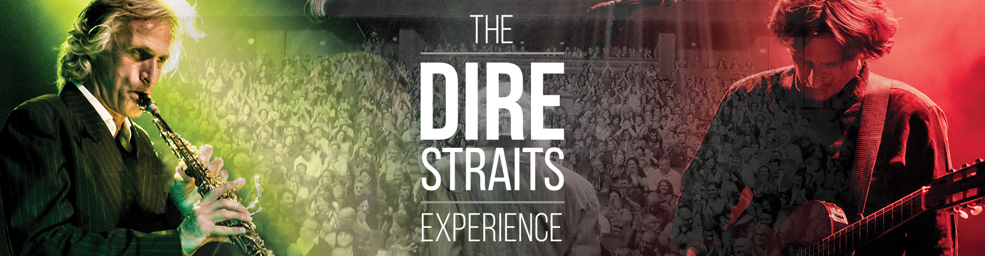 The Dire Straits Experience promo banner