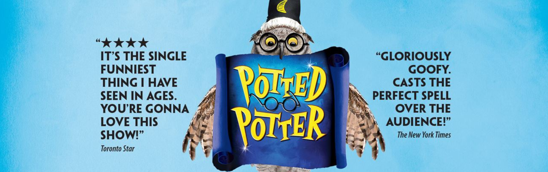 Potted Potter heading with reviews