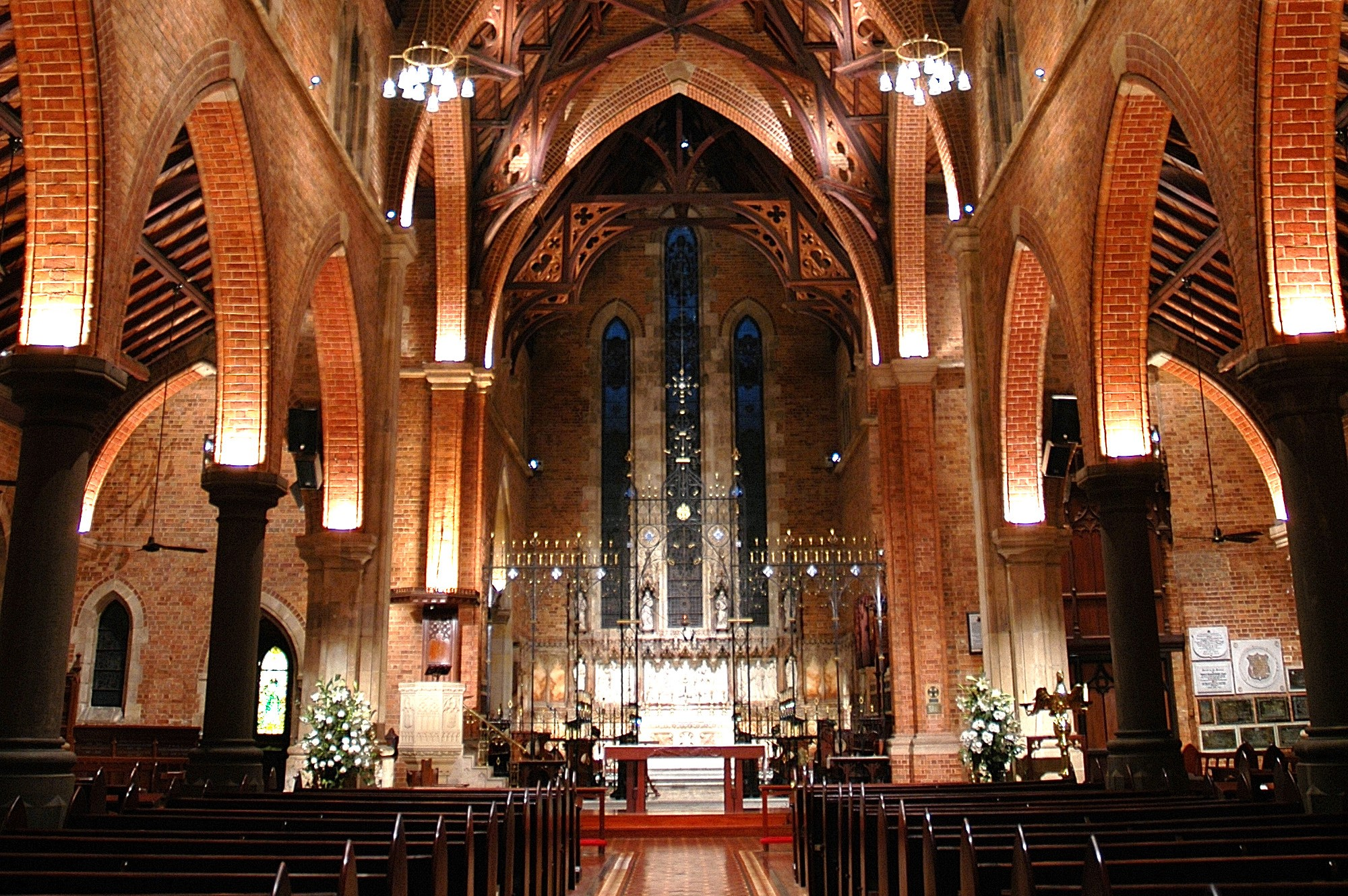 Inside St Georges Cathedral