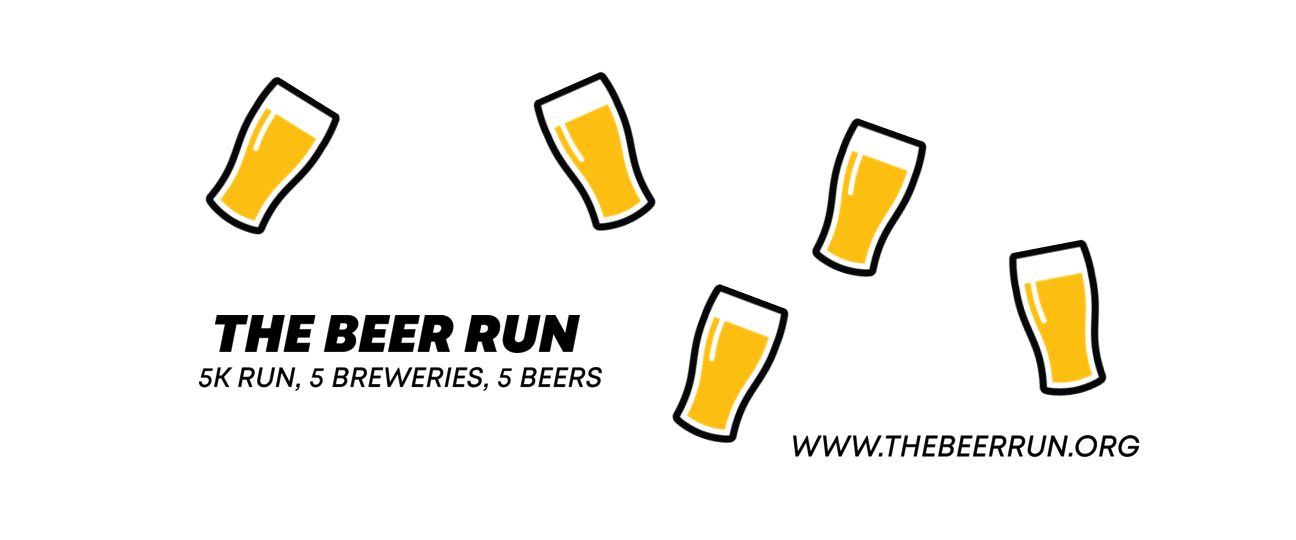 the beer run promotional poster