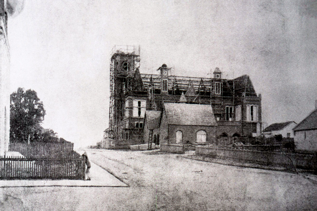 Perth Town Hall, 1868