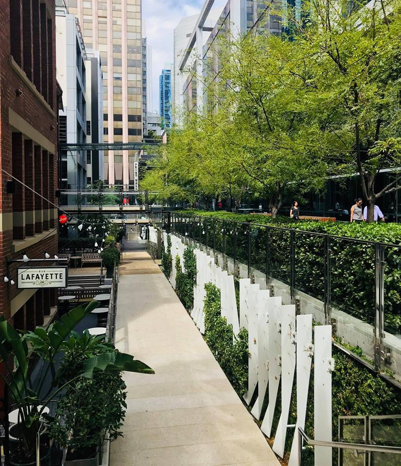 pathway at Brookfield Place featuring Bar Lafayette