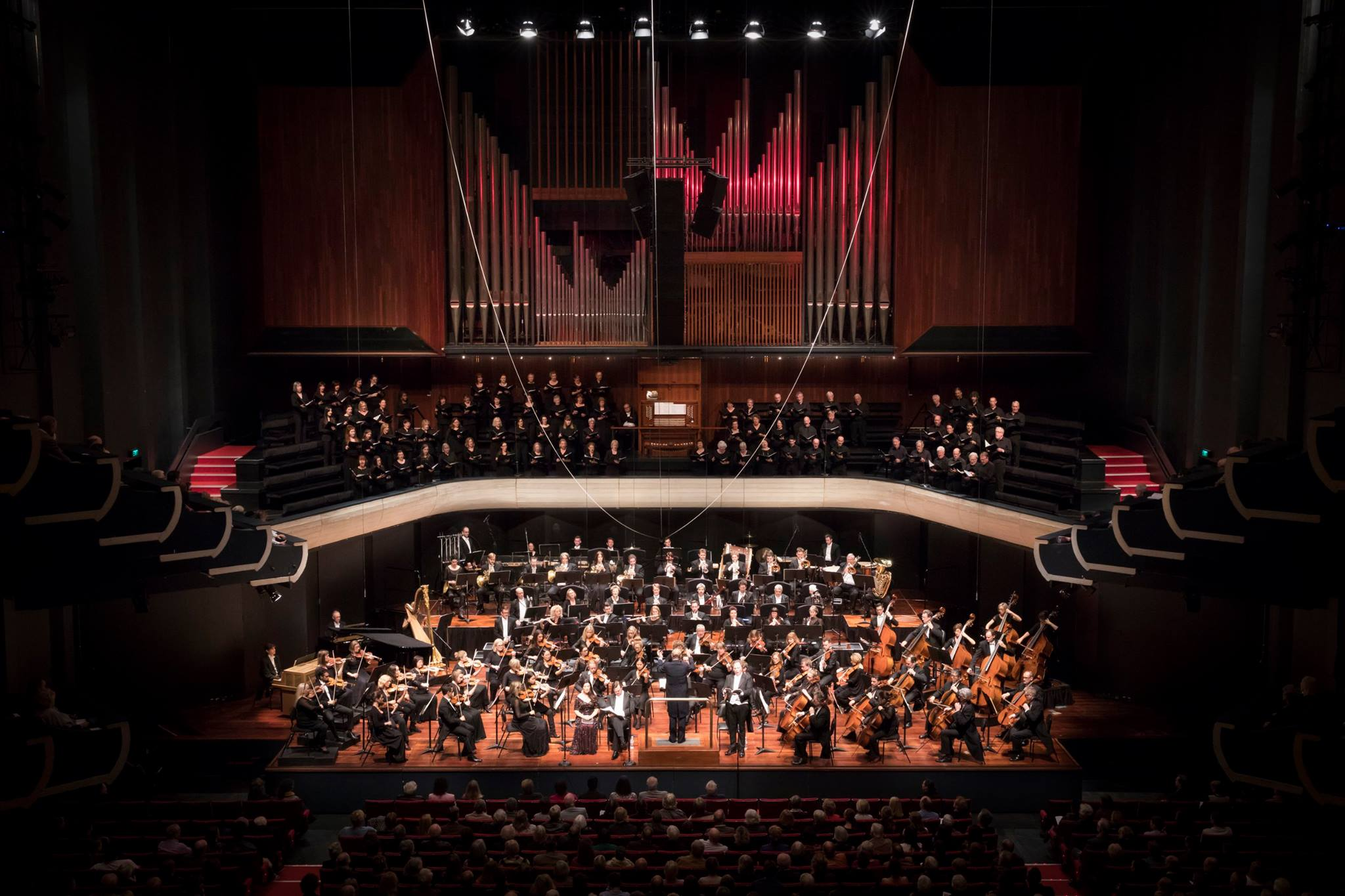 some of the finest music acoustics in the Southern Hemisphere
