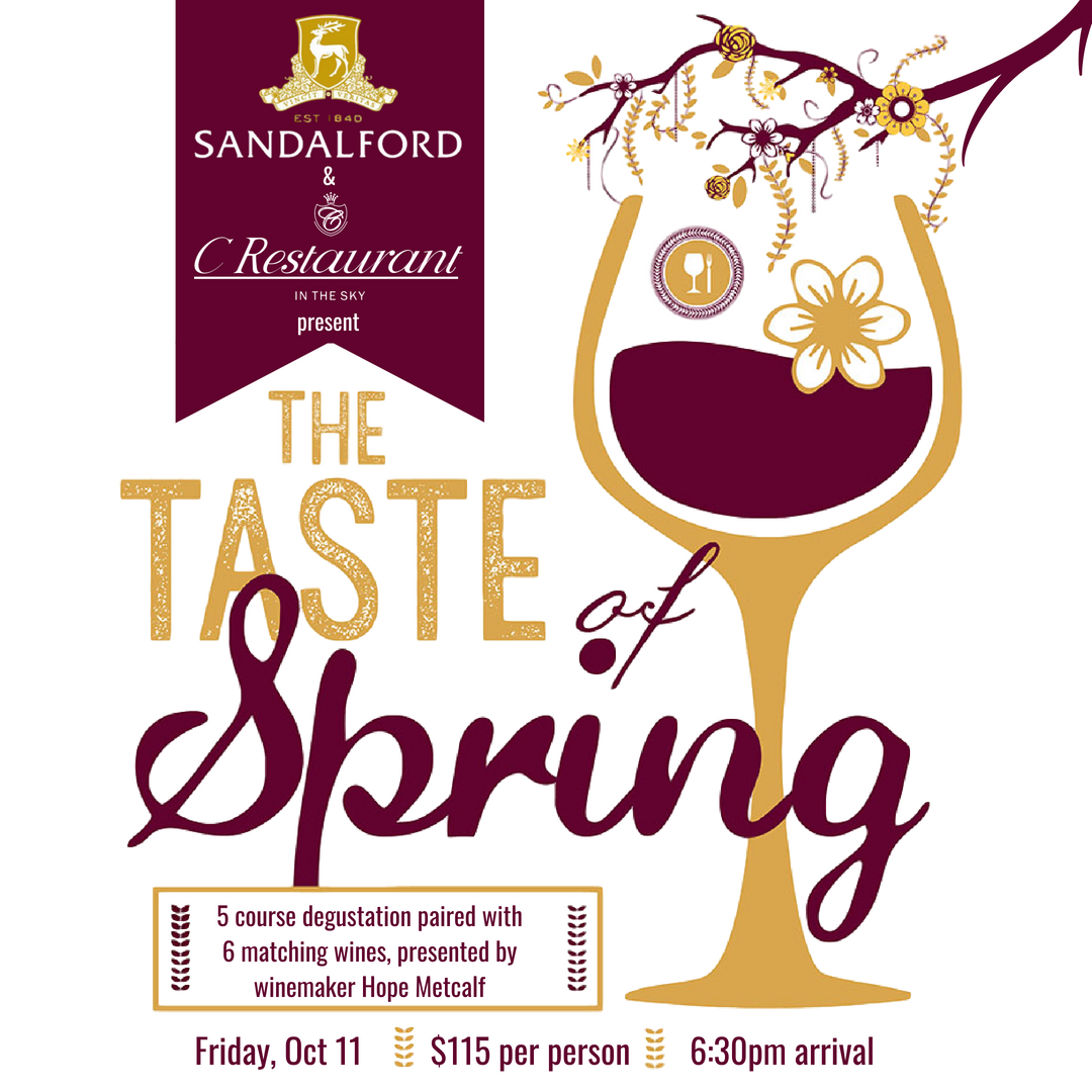 Sandalford Wine Dinner Artwork