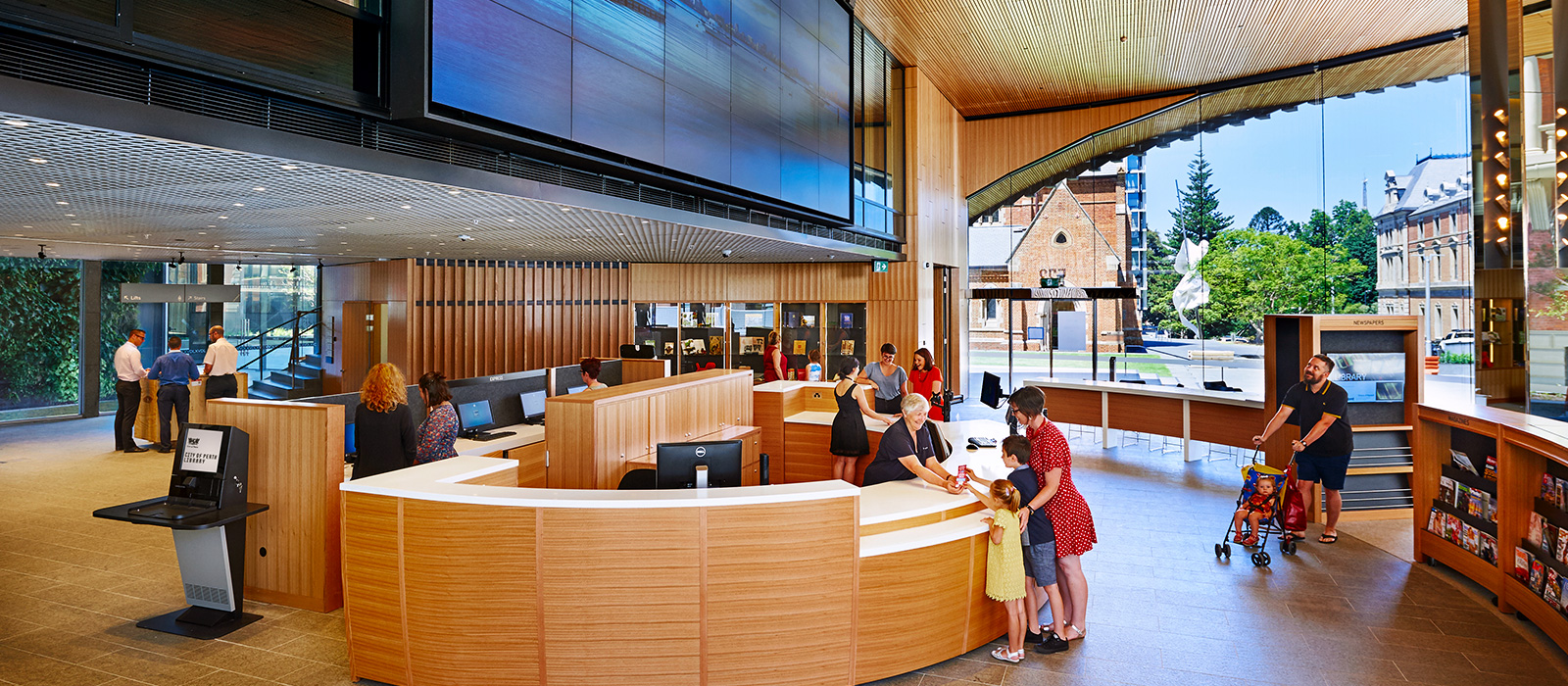 CoP library foyer